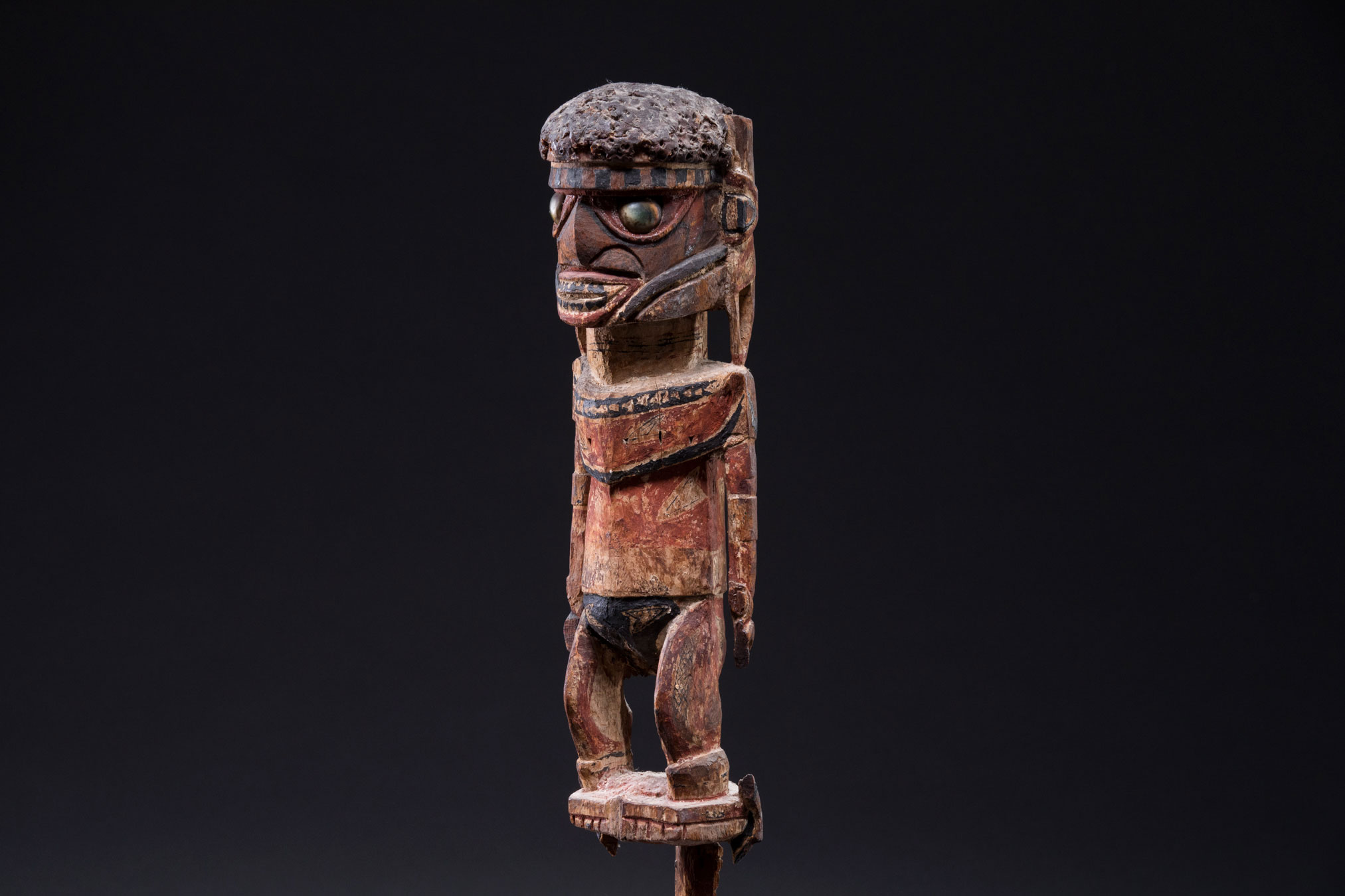 New acquisitions of South Pacific Tribal Artifacts | Malangan figure