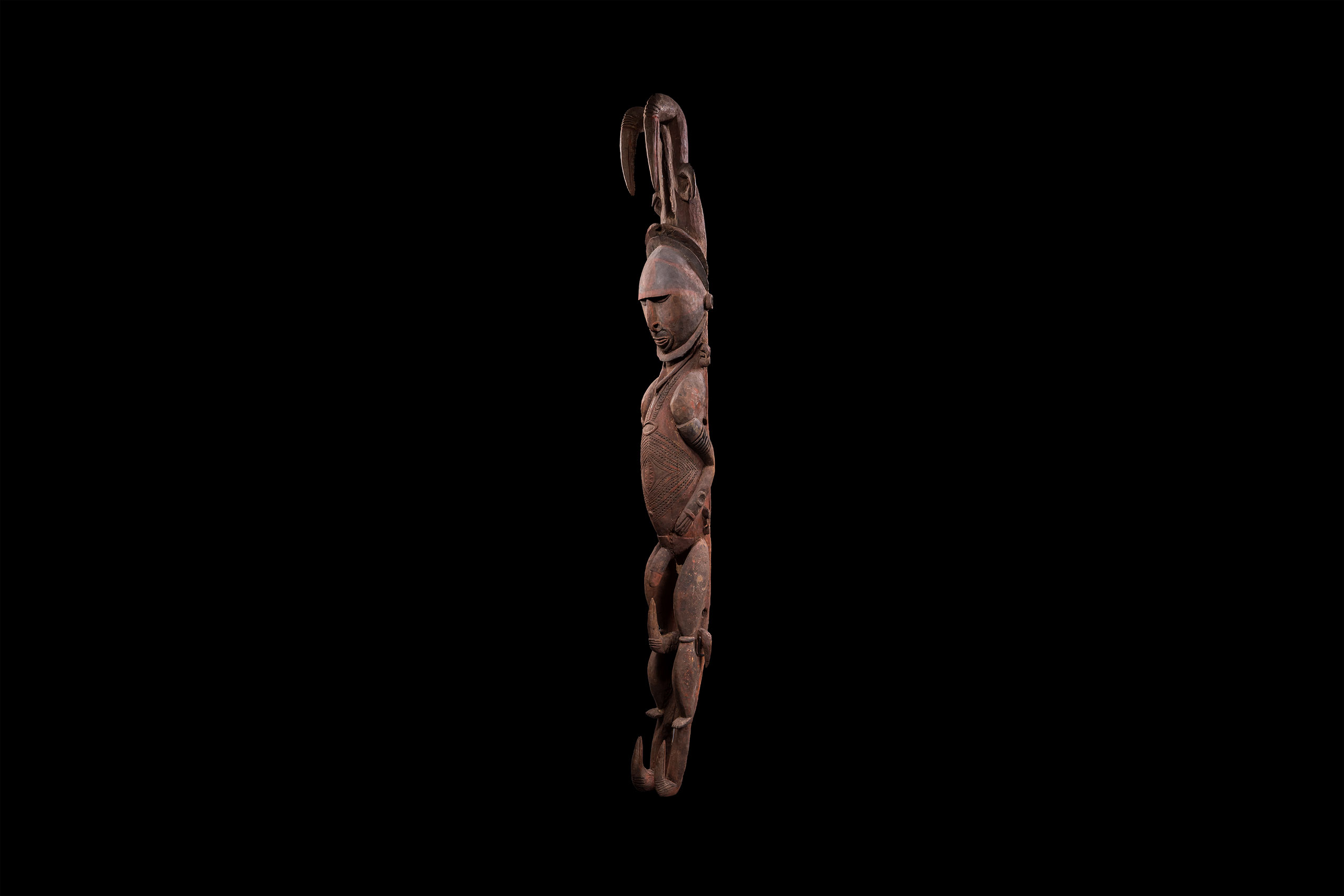 Papua New Guinea art objects and artifacts | Nggwalndu ancestral spirit figures