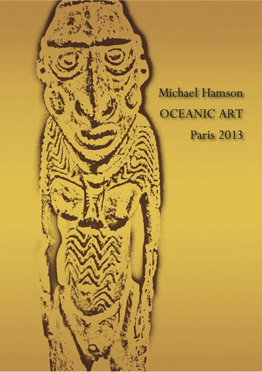 Michael Hamson Publications | Oceanic Art Paris 2013