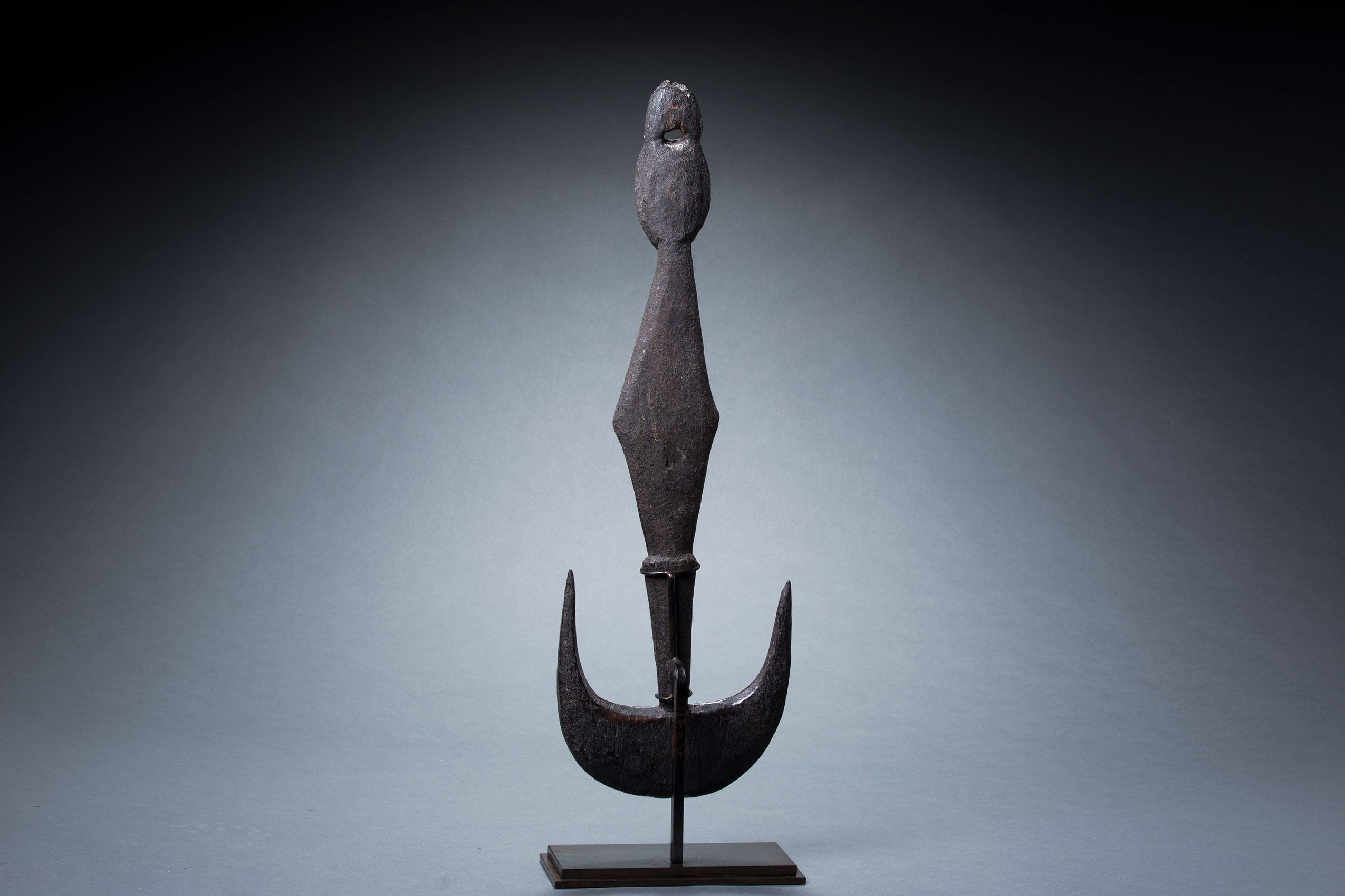 Papua New Guinea art objects and artifacts | Middle Sepik suspension hook