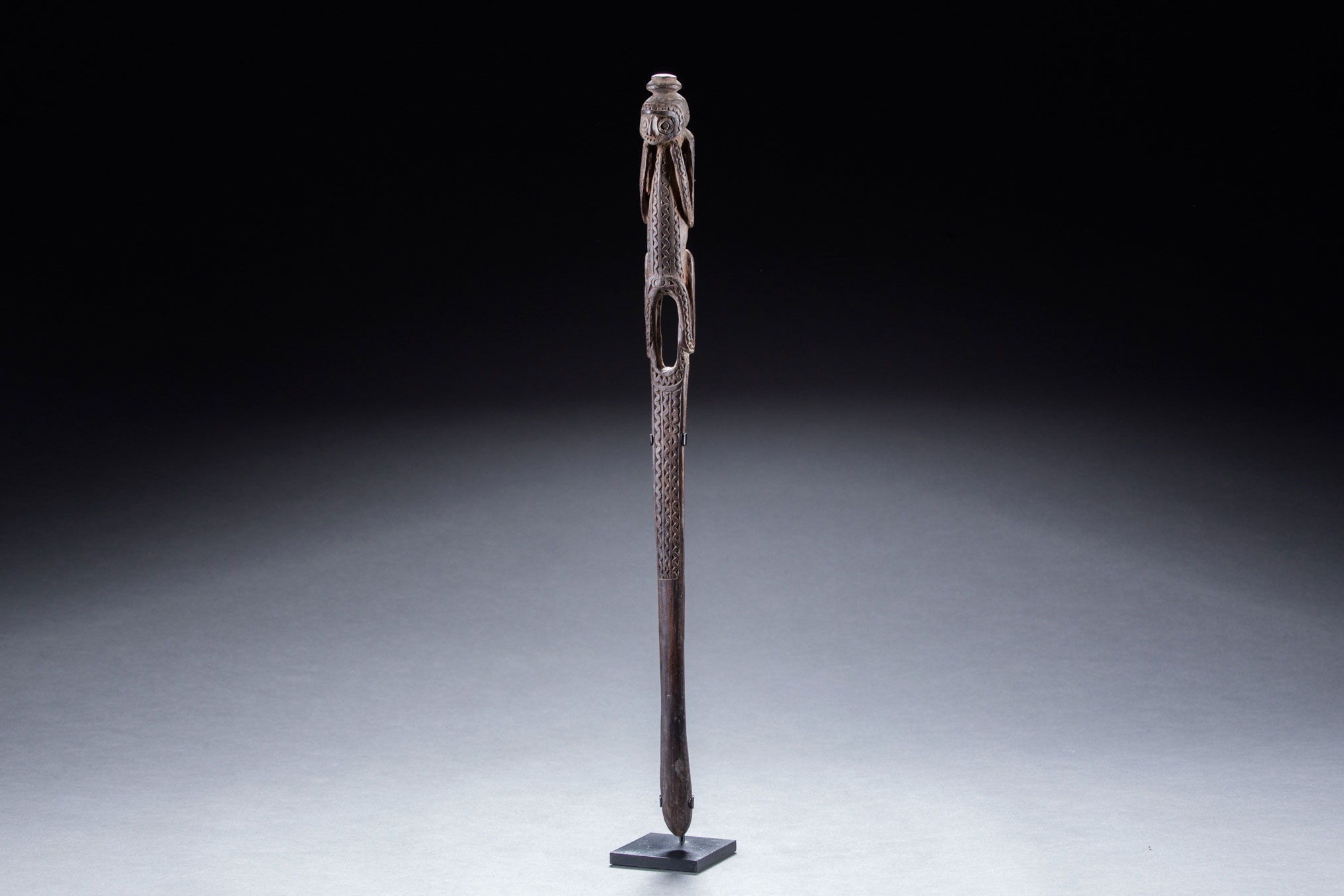 Papua New Guinea art objects and artifacts | lime spatulas