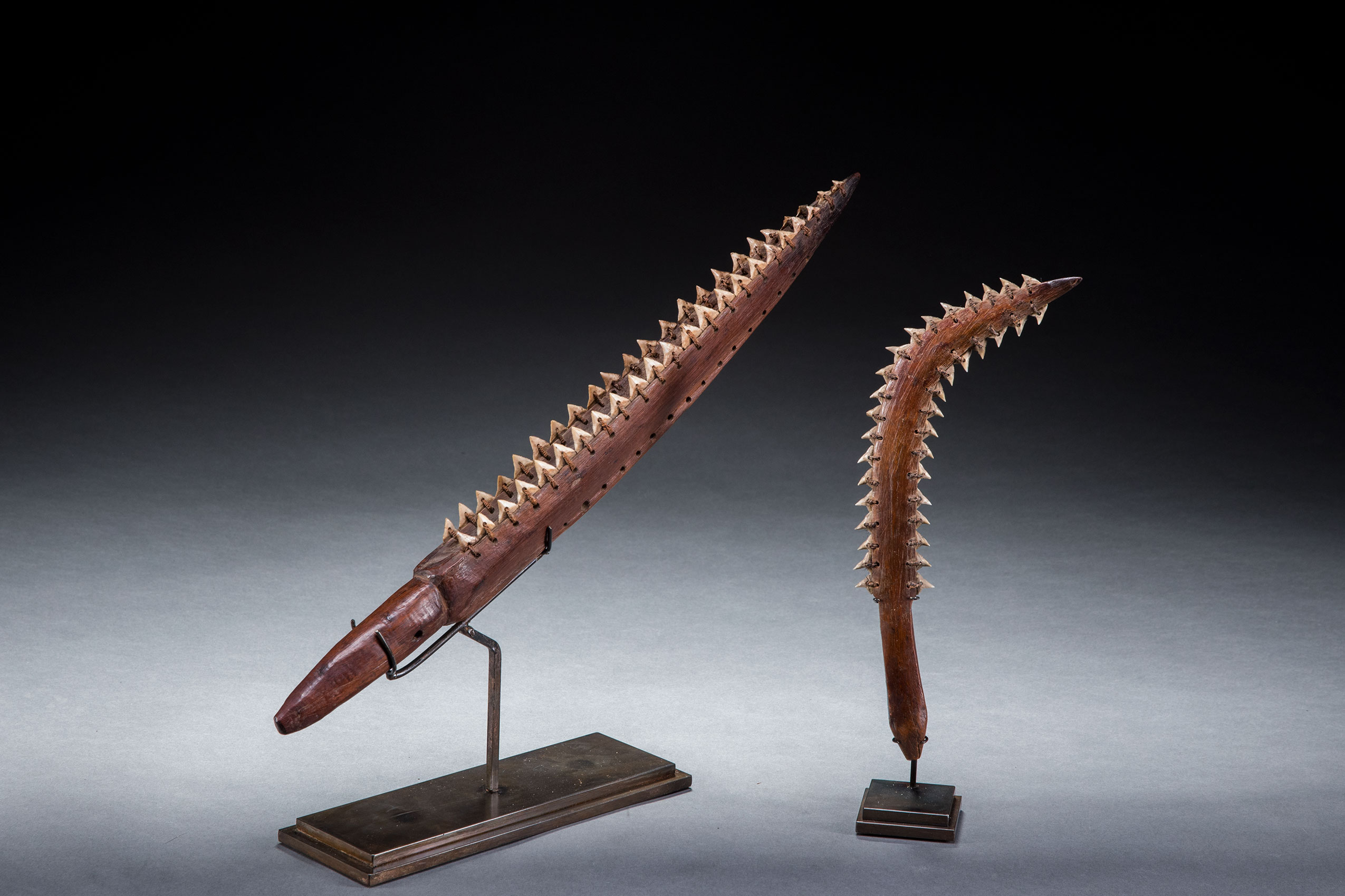 South Pacific art objects and artifacts | shark tooth weapons